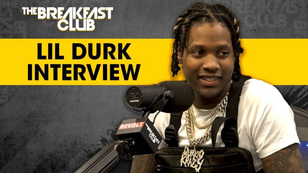 Lil Durk Speaks On Leaving Def Jam, Paying Homage To Chicago, King Von + More w/The Breakfast Club