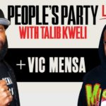 Vic Mensa On 'People's Party Live With Talib Kweli'