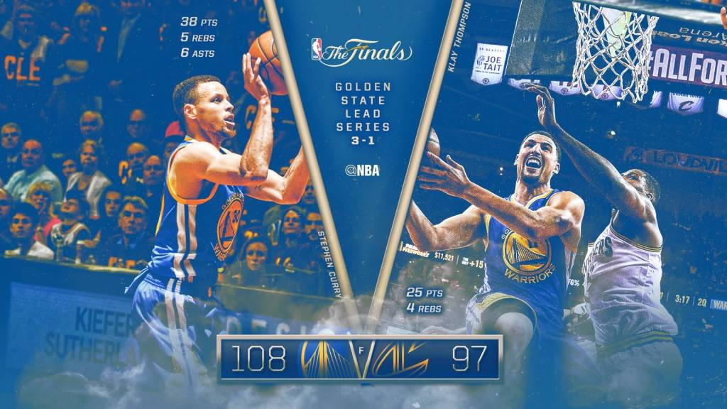 Video: Cleveland Cavaliers vs. Golden State Warriors (Full Highlights) [NBA Finals: Game 4]