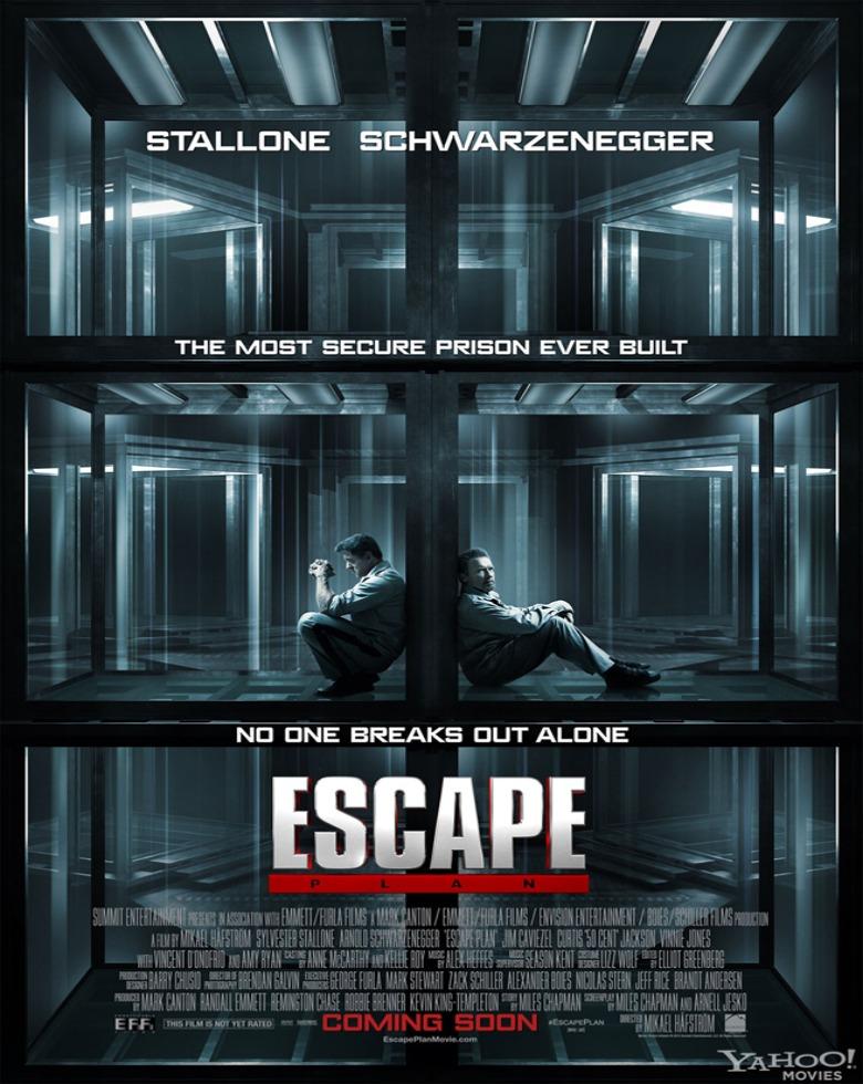 Video: Escape Plan » Trailer [Starring Arnold Schwarzenegger, Sylvester Stallone, & 50 Cent]