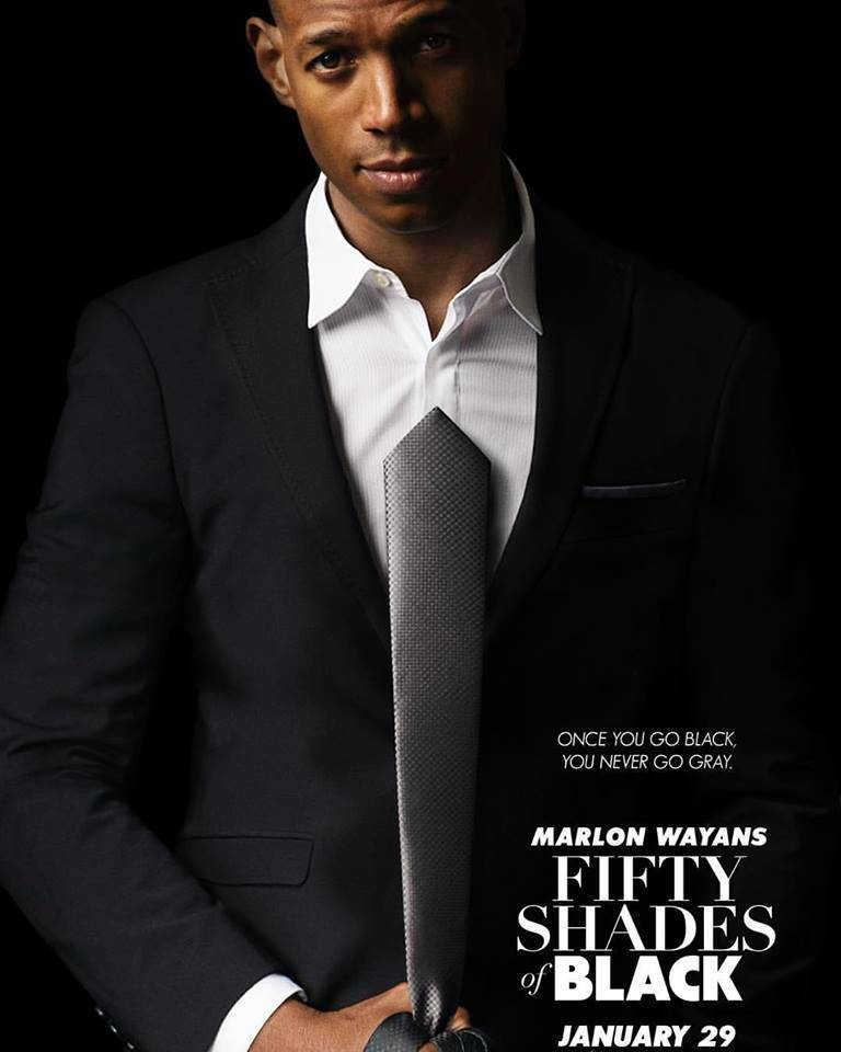 1st Trailer For '#FiftyShadesOfBlack' Movie Starring @MarlonWayans