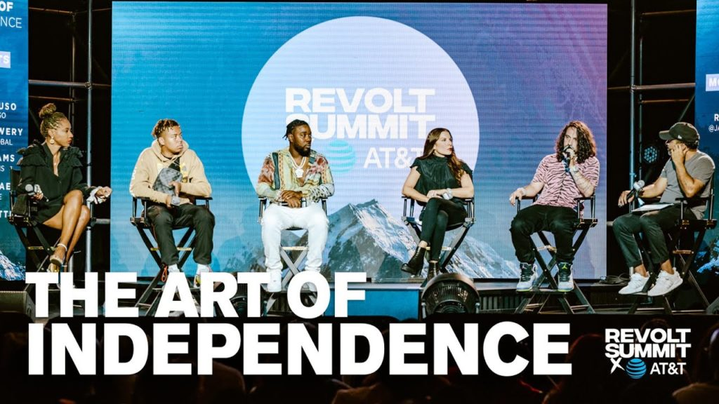 Watch The REVOLT Summit 'Art Of Independence' Panel