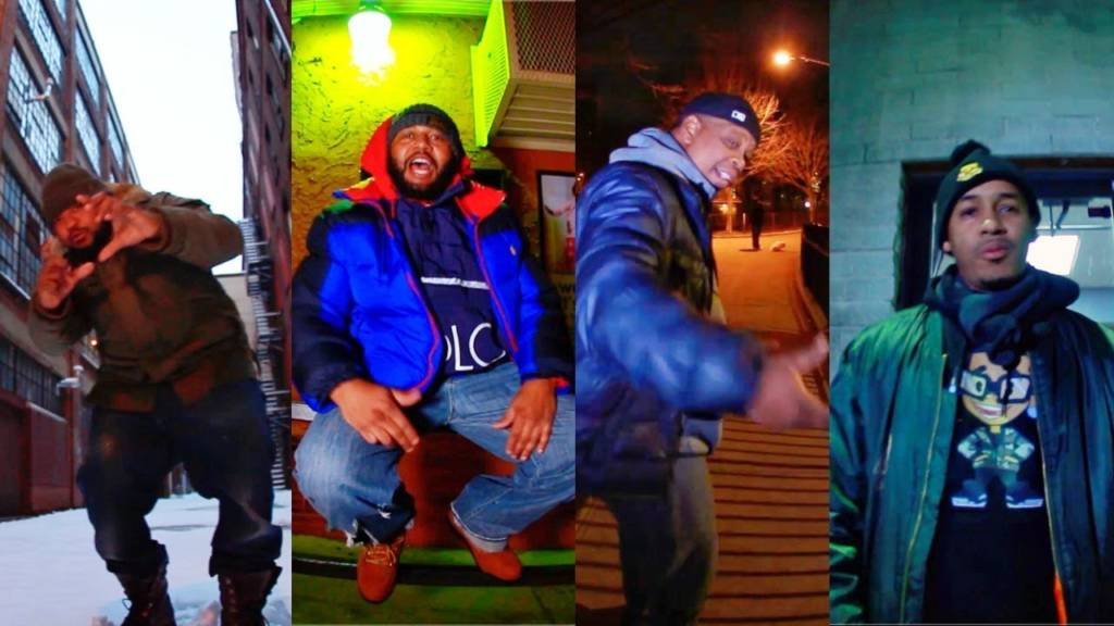 Video: Snowgoons feat. Jay Royale, Fel Sweetenberg, Illa Ghee, & Ali Vegas - 4 Stripes