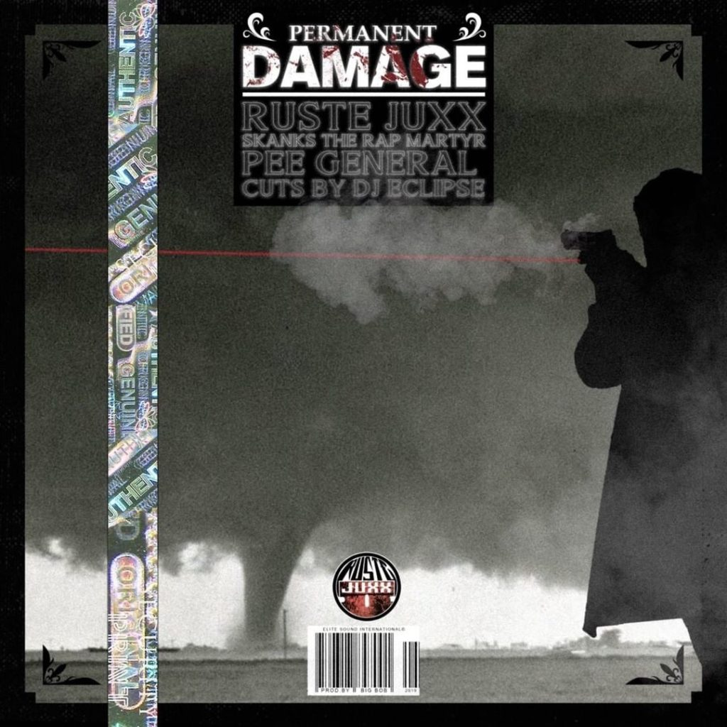 Video: Ruste Juxx feat. Skanks The Rap Martyr, Pee General, & DJ Eclipse - Permanent Damage [Prod. BigBob]