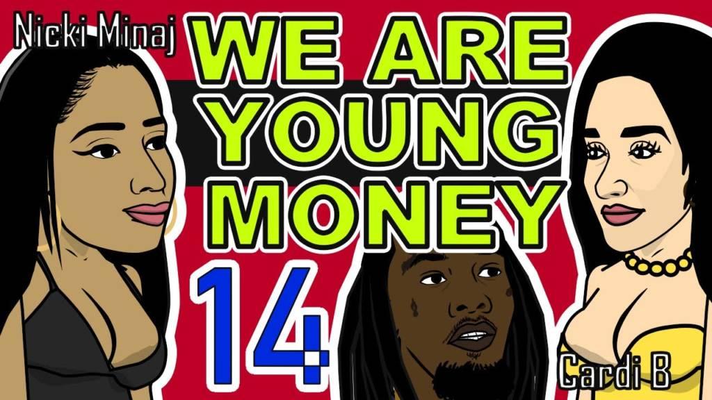 We Are Young Money 14 [Cartoon Parody]