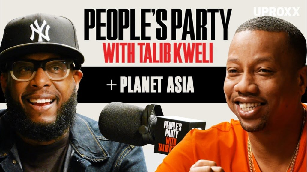 Planet Asia On 'People's Party With Talib Kweli'
