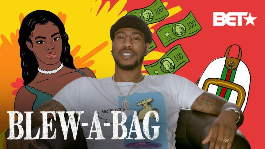 Iman Shumpert On BET's 'Blew A Bag'