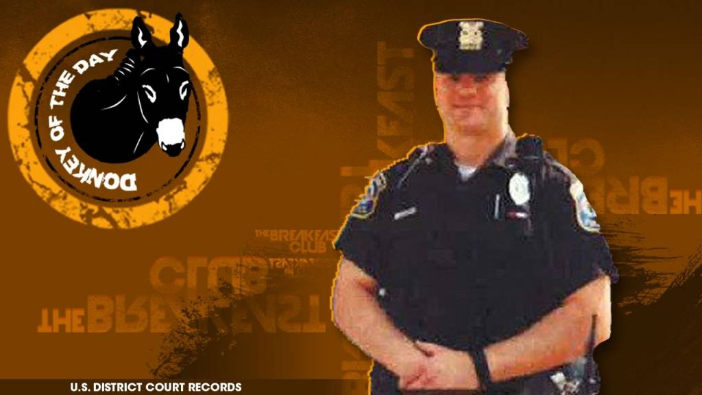 White Cop Awarded Donkey Of The Day For Suing City For Racism After Ancestry Test Said He Was 18% Black