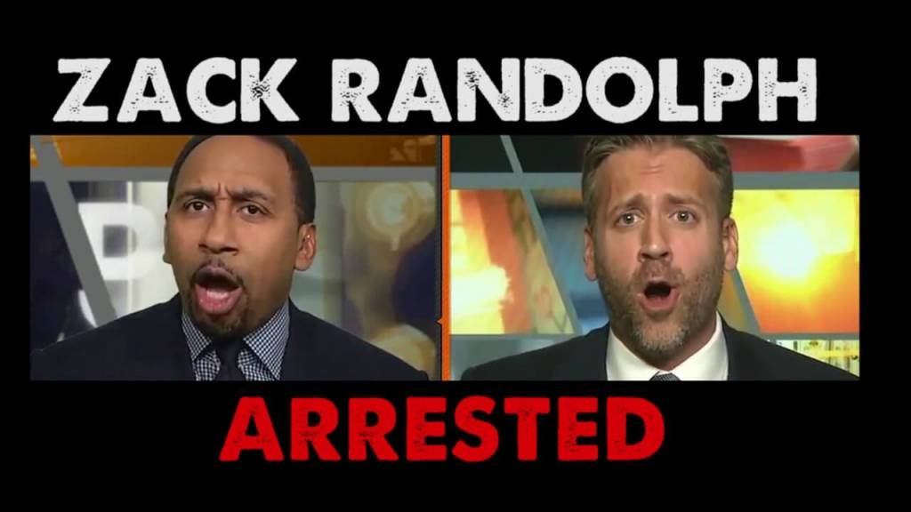 Max Kellerman Calls Out Stephen A. Smith For Demonizing Players After Zach Randolph Arrest