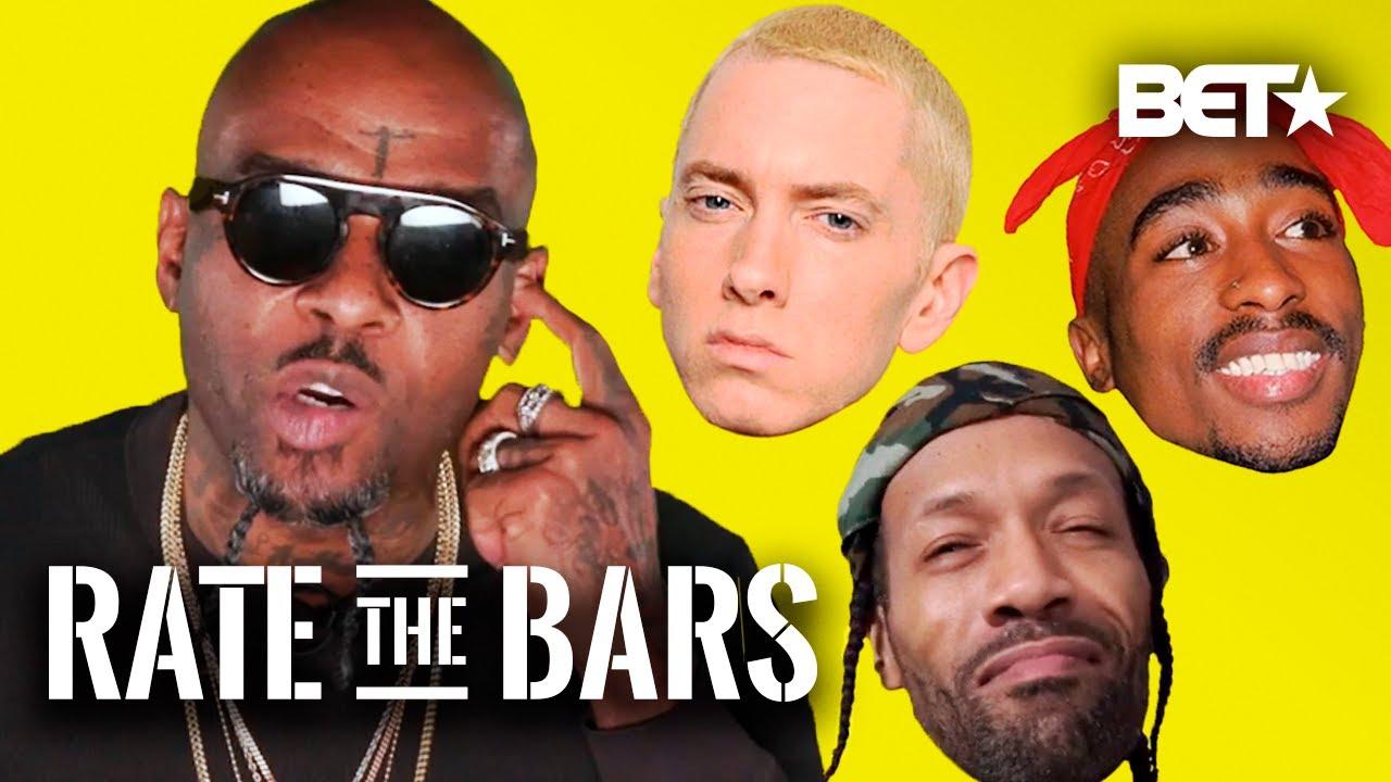 Treach On BET's 'Rate The Bars'