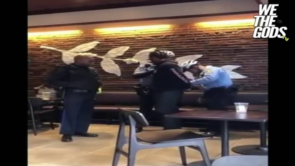 Black Men Arrested @ Starbucks For Not Ordering Anything???